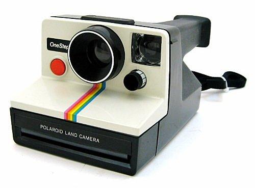 cámara Land Polaroid