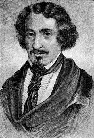 José de Espronceda publica El estudiante de Salamanca.