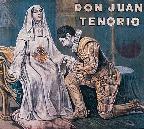 Zorrilla estrena Don Juan Tenorio.