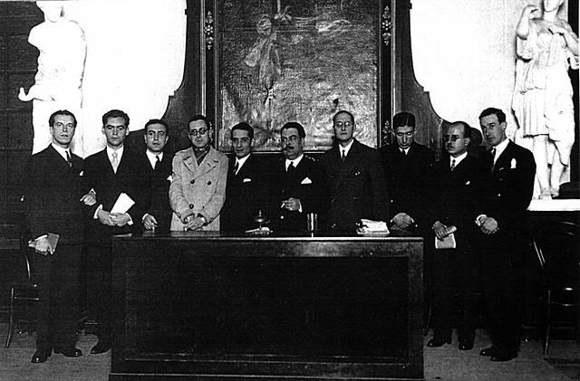 Celebración del tricentenario de la muerte de Góngora.