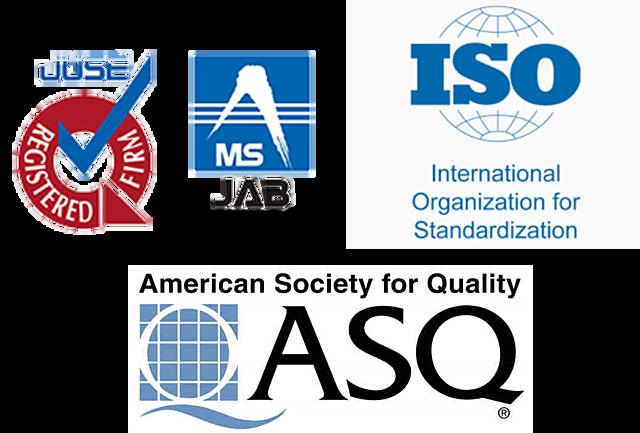 Fundación de la ASQC, UCIJ e ISO