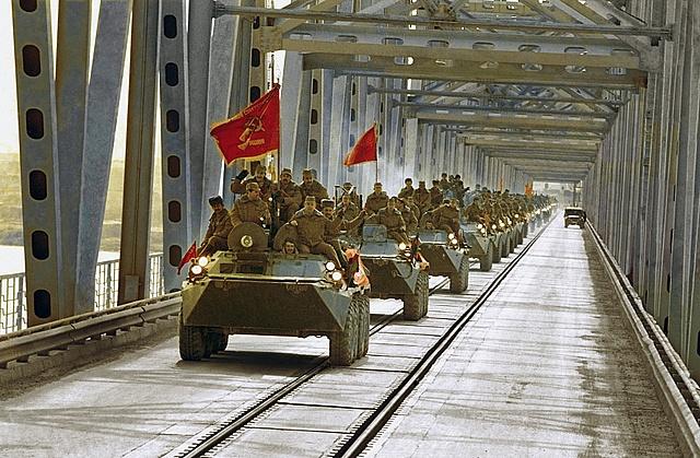 Советские войска уходят из Афганистана
