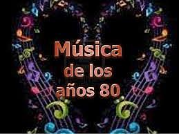 música años 80