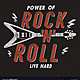 Vintage hand drawn rock n roll poster retro music vector 20717903