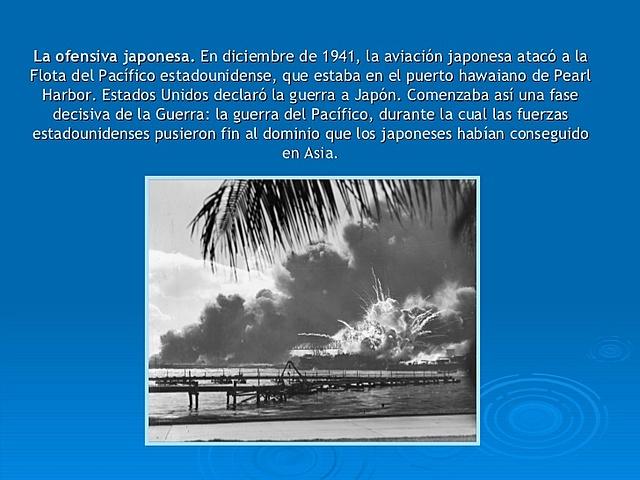 JAPON BOMBARDEA PEARL HARBOR
