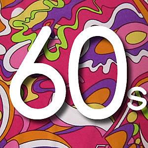 características de los años 60