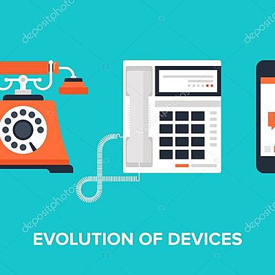 Evolución de Dispositivos Móviles timeline