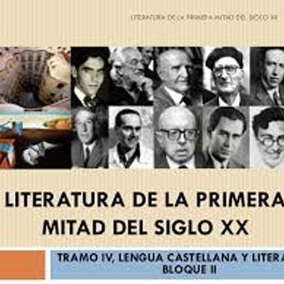 AUTORES DE LA PRIMERA MITAD DEL SIGLO XX timeline
