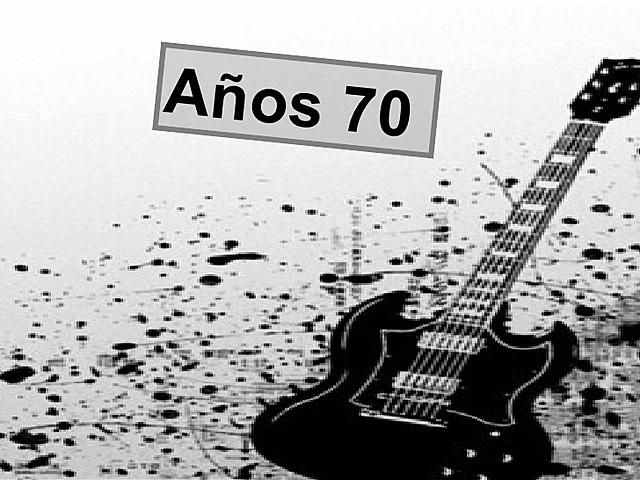 La música de los 70