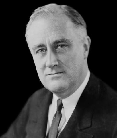 Franklin Roosevelt takes office