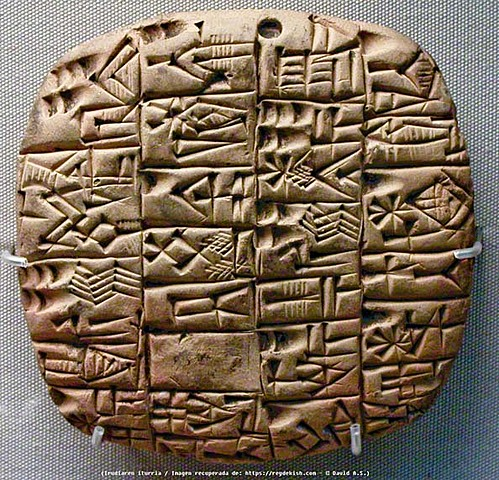 Tablillas de cera en Mesopotamia