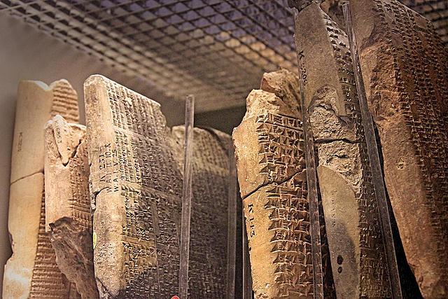 Biblioteca de Nínive con más de 22.000 tablillas