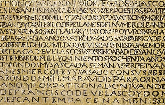 Escritura latina