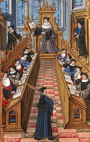 Lectura en la Edad Media