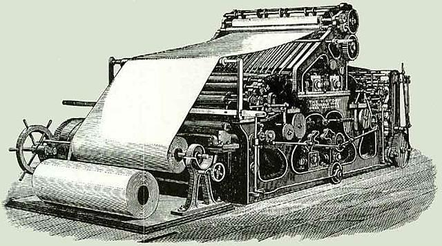 Invención de huecograbado