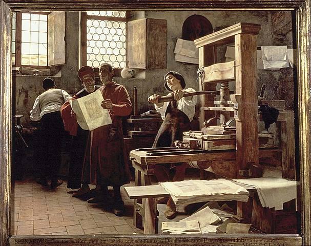 Primera imprenta en Estado Unidos