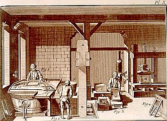 Primer molino de papel en Pelsilvania