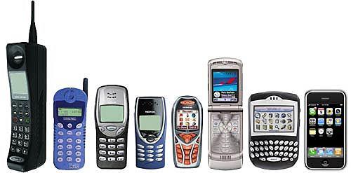 Primeros dispositivos móviles