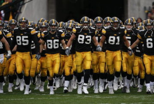 First Iowa Football Game