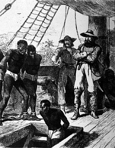 First West African slaves