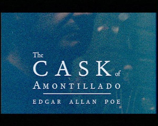 The Cask of Amontillado by Edgar Allen Poe
