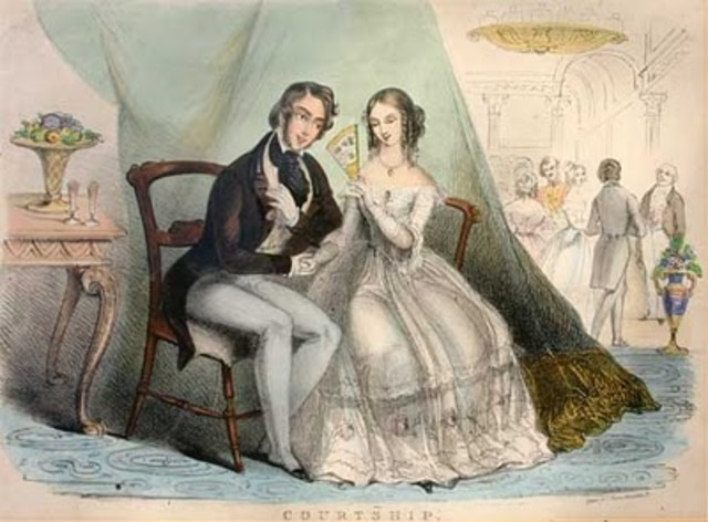 Robert Browning marries Elizabeth Barrett (Browning) and they run away to Italy