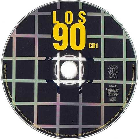 Características de los 90