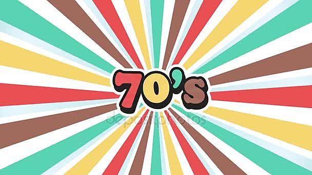 Característica de los 70: La década de los años 1970 (abreviado a menudo como los 70s) comenzó el 1 de enero de 1970 y finalizó el 31 de diciembre de 1979.