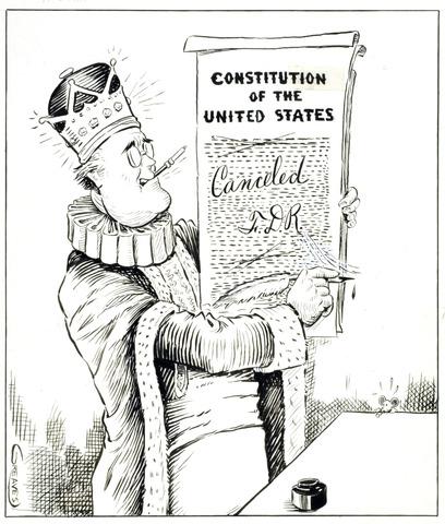 Roosevelt vs Wilkie