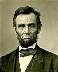 President Abraham Lincoln elected to office