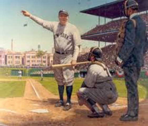 Babe Ruth's Famous Called Shot