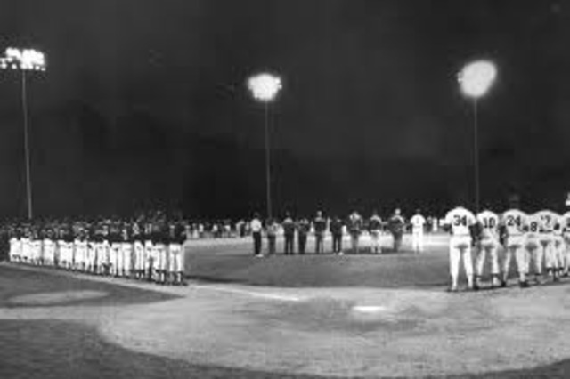 The First Night Game