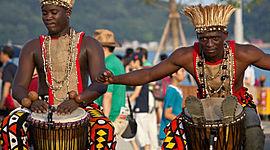 História da Música de Angola timeline