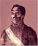 Brigadier Gabino Gainza (1821 - 1822)