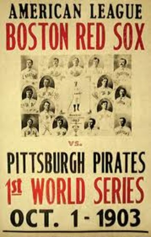 First World Series Played