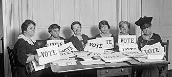 THE RIGHT TO VOTE OF WOMEN OF MORE THAN 30 YEARS IN THE UNITED KINGDOM