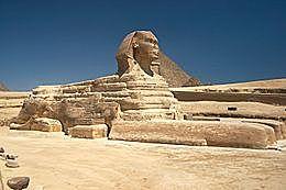 Grote sfinx van Gizeh
