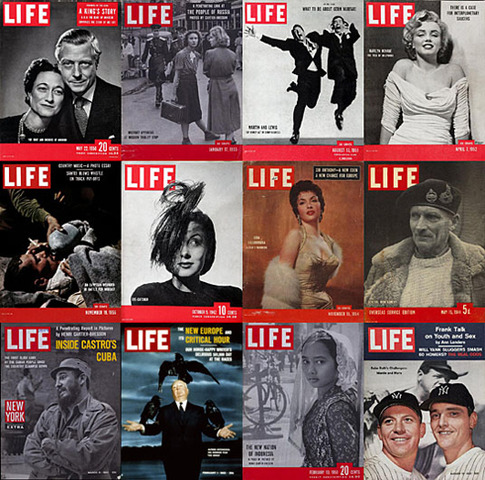 La revista Life cesa la actividad.