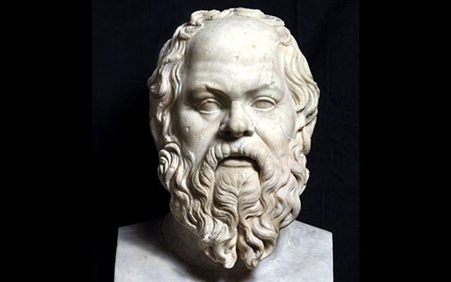 La morte di Socrate.