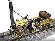 Primera locomotora de vapor