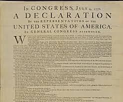 Declaración de la Independencia de los Estados Unidos