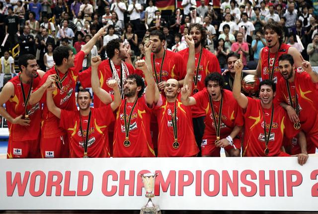 La selección española de baloncesto gana el mundial
