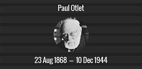 Paul Otlet veut classer et ficher le monde