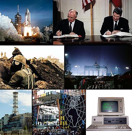 Características de los años 80: