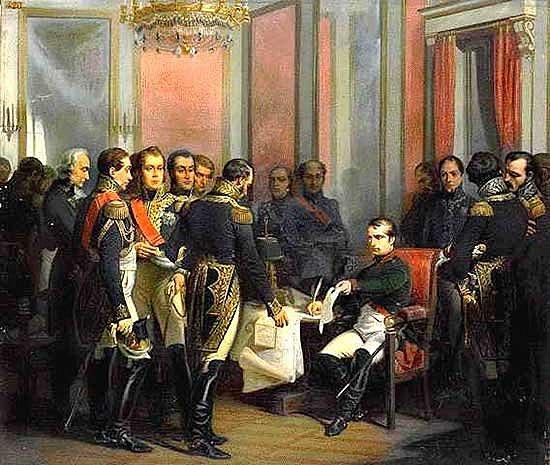 Signatura del tractat de Fontainebleau
