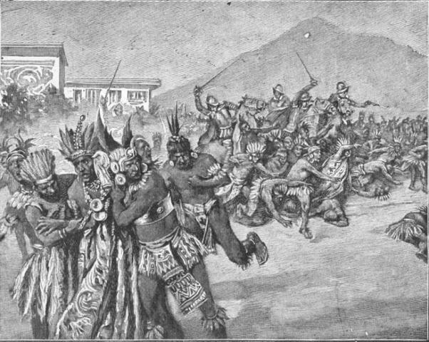 Inca Kingdom overwhelmed