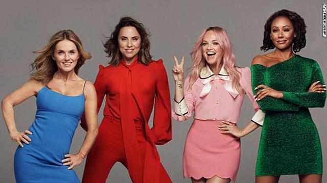 Spice Girls (Reino Unido, Londres, creado por Mel B, Victoria Beckham, Geri Halliwell, Melanie Chisholm, Emma Bunton