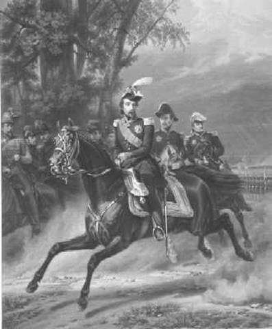 Napoleon leaves.