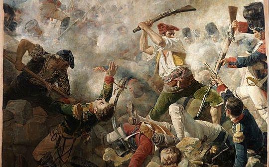 La guerra del Francés (etapes)