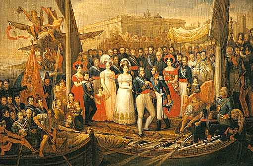 La restauració de l'absolutisme (1814-1820).